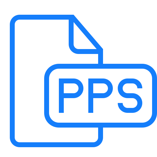 document, file, pps icon