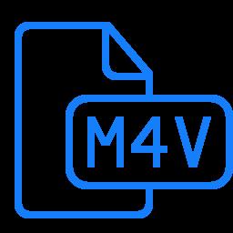 document, file, m4v icon