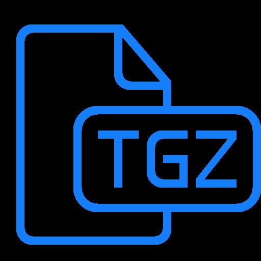 document, file, tgz icon