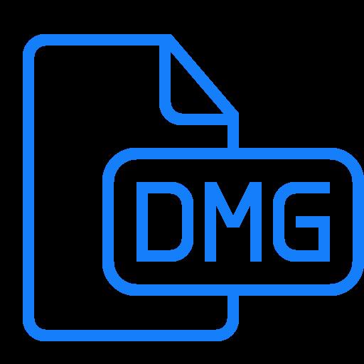 dmg, document, file icon