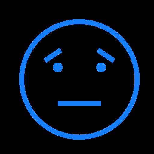 eyebrows, face, neutral icon