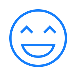 face, laughing icon