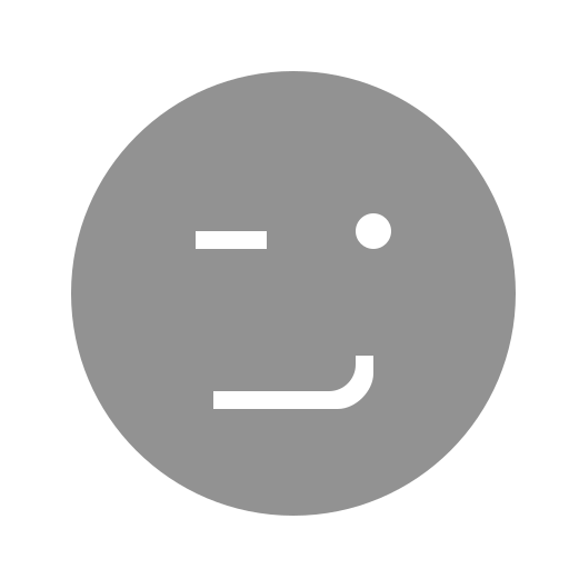 face, winking icon