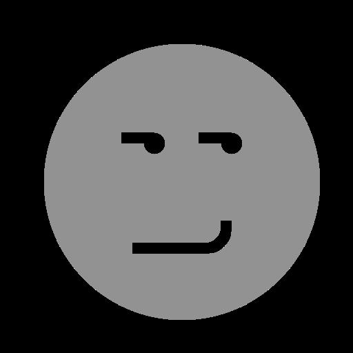 face, smirking icon
