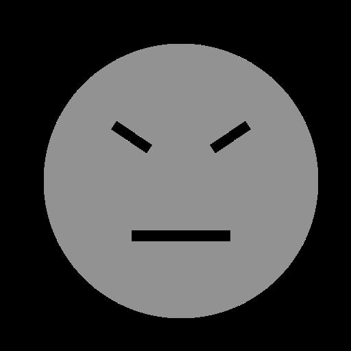 face, stubborn icon