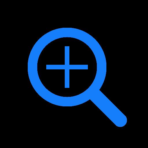 plus, search icon