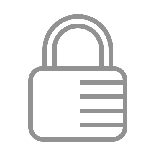 combination, lock icon