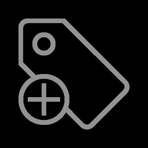 add, tag icon