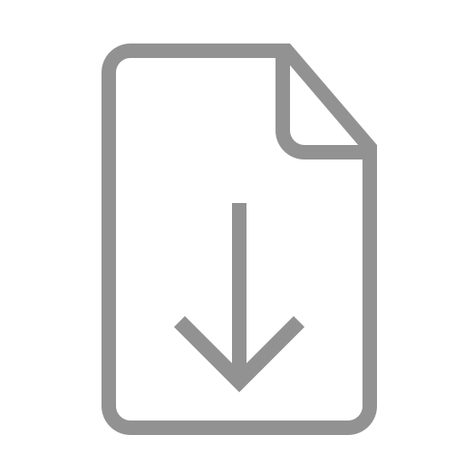 document, download icon