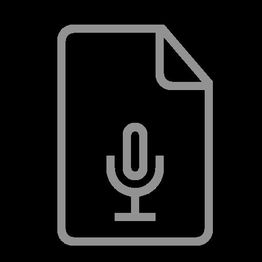 document, recording icon