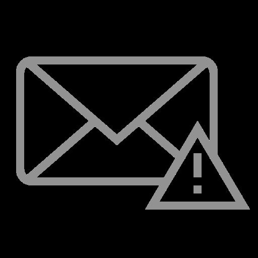 error, mail icon