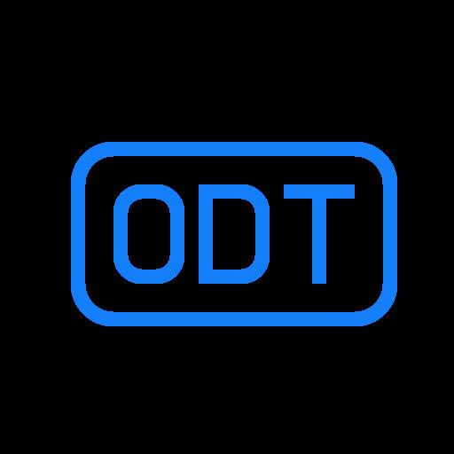 file, odt icon