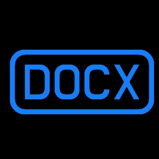 docx, file icon