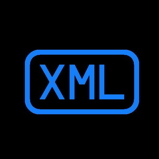 file, xml icon