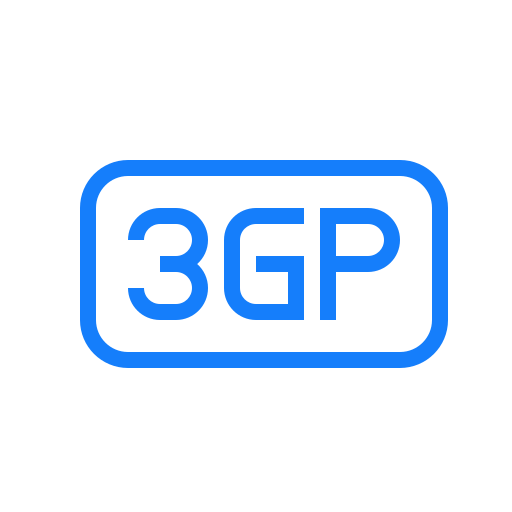 3gp, file icon