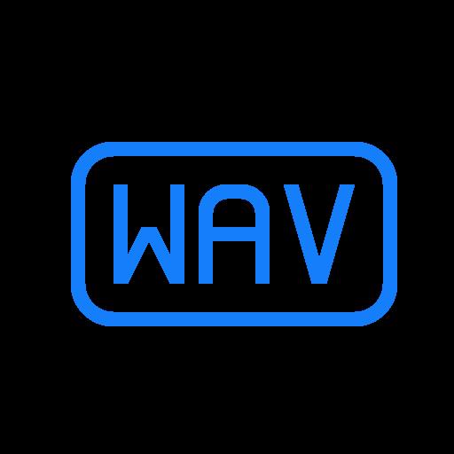 file, wav icon