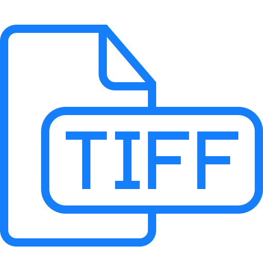 document, file, tiff icon