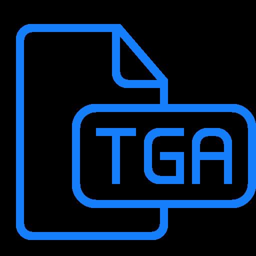 document, file, tga icon