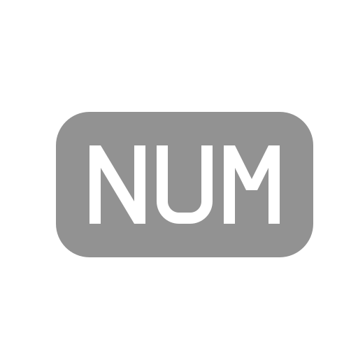 file, numbers icon