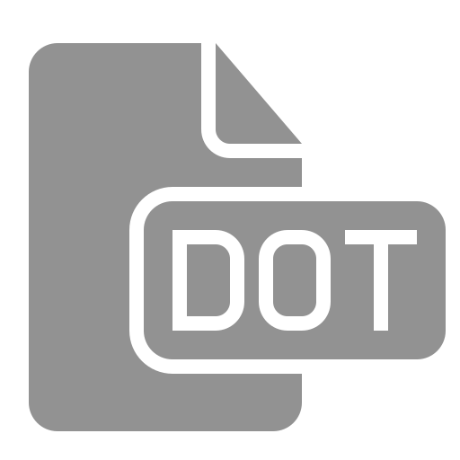 document, dot, file icon