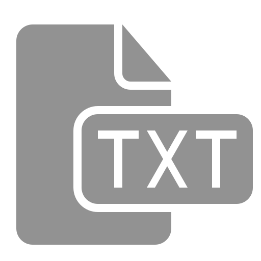 document, file, txt icon