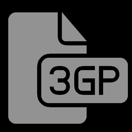 3gp, document, file icon