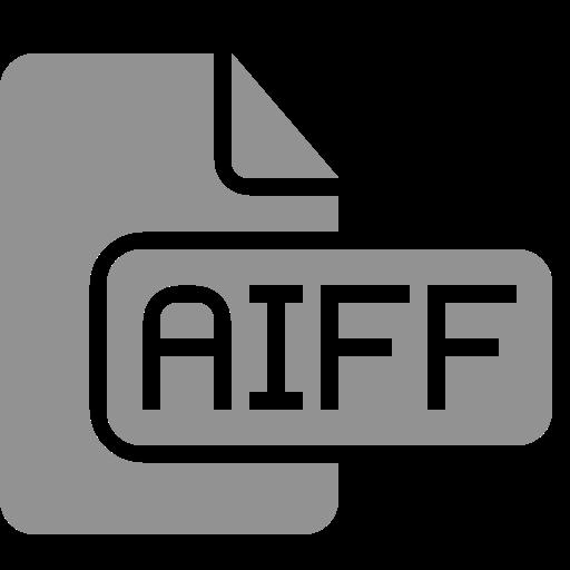 aiff, document, file icon