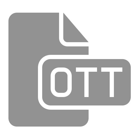 document, file, ott icon
