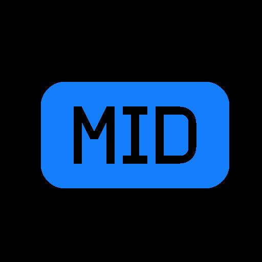 file, mid icon