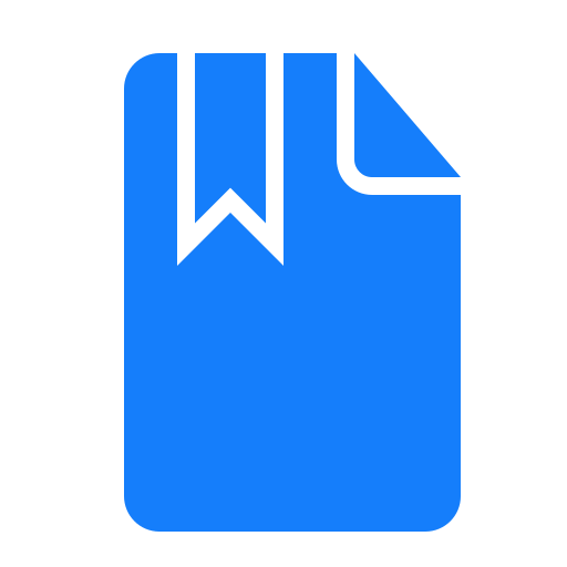 bookmark, document icon
