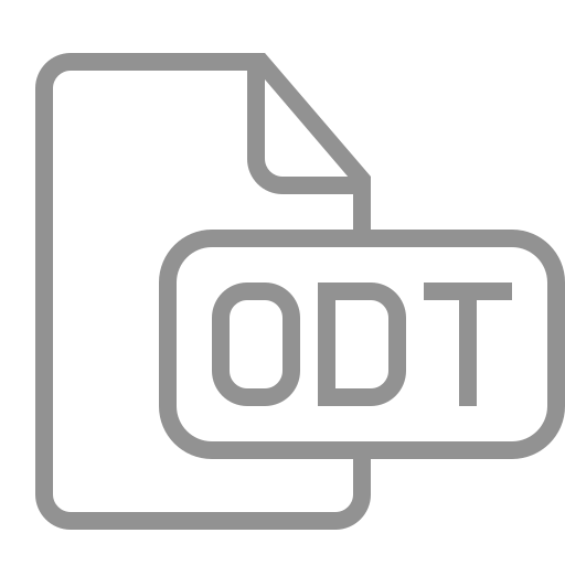 document, file, odt icon