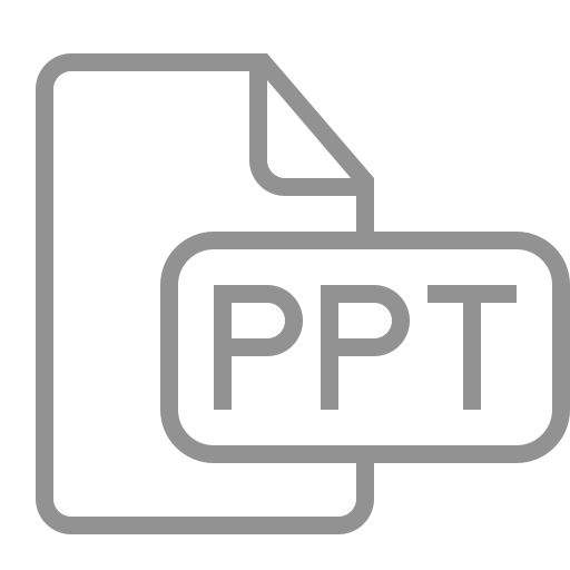 document, file, ppt icon