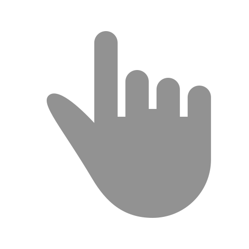 finger, one icon
