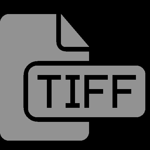 document, file, tiff icon