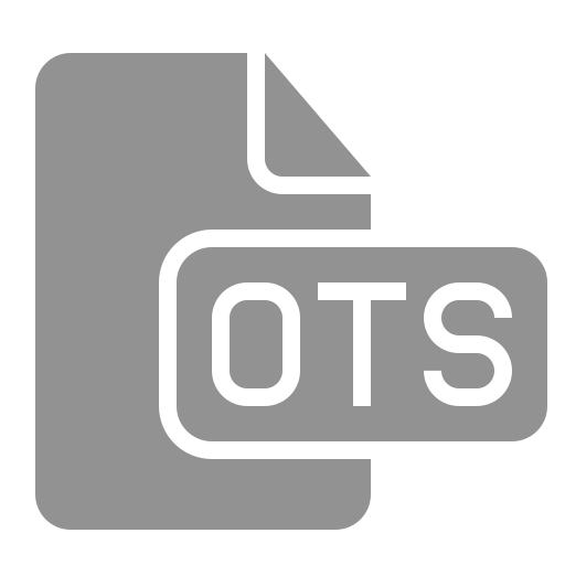 document, file, ots icon