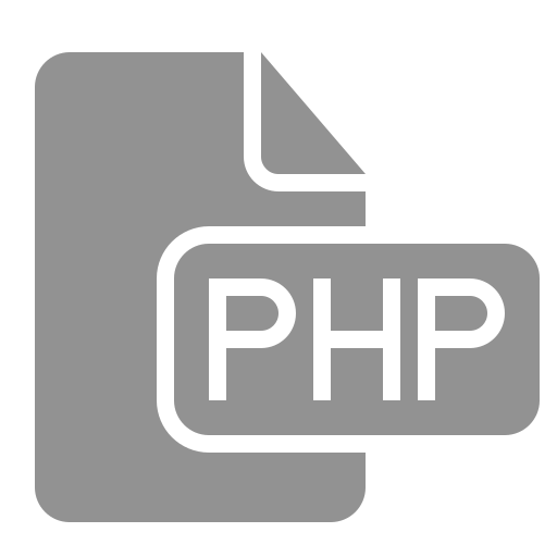 document, file, php icon