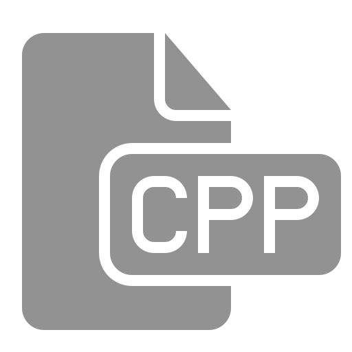 cpp, document, file icon
