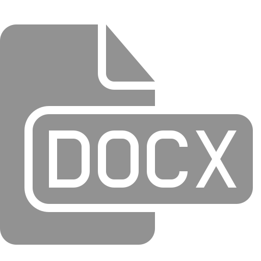document, docx, file icon