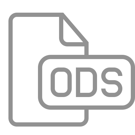 document, file, ods icon