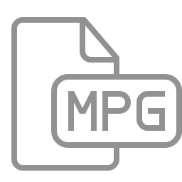 document, file, mpg icon