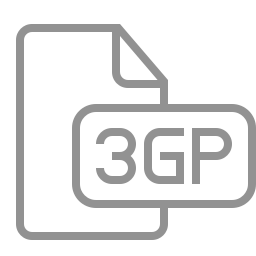 3gp, document, file icon