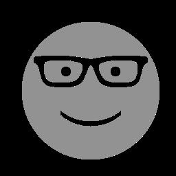 face, glasses icon