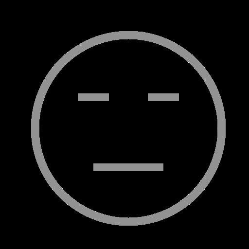 face, neutral icon