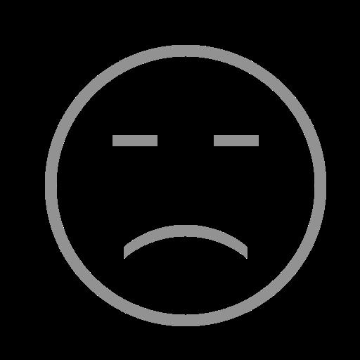 face, sad icon