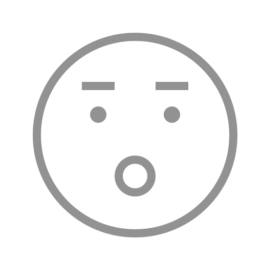 eyebrows, face, mouth, open icon