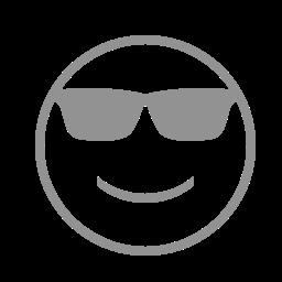 face, sunglasses icon