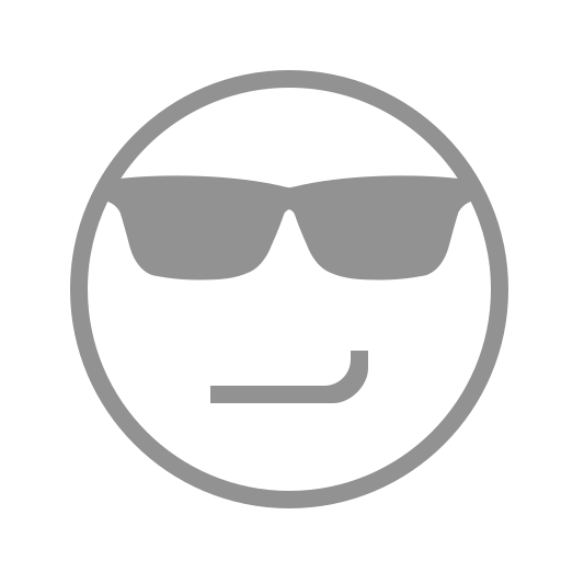 face, smirking, sunglasses icon