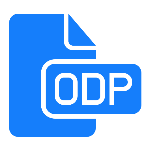 document, file, odp icon