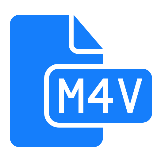 document, file, m4v icon