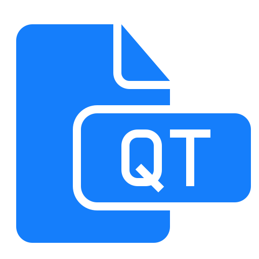 document, file, qt icon